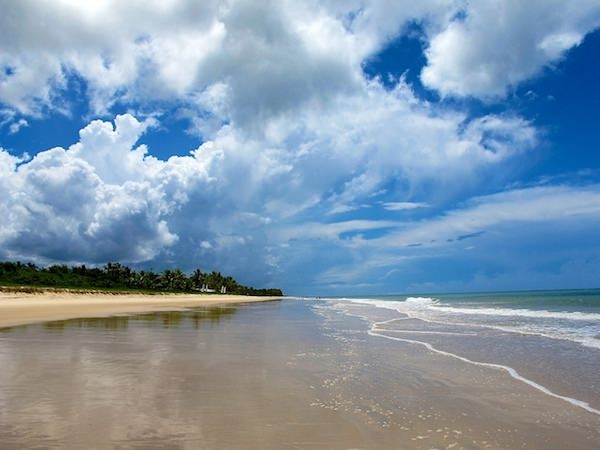 Beaches in Trancoso (2) - Praia do Rio da Barra