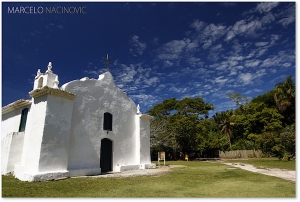 White Washed Church, A Symbol of Trancoso
